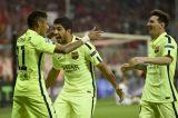 Лига чемпионов. Барселона стала первым финалистом
