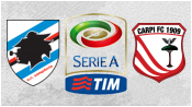 Сампдория 5 - 2 Карпи (23 августа 2015). Обзор матча