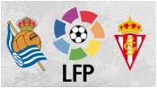 Реал Сосьедад 0 - 0 Спортинг Хихон (29 августа 2015). Обзор матча