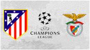 Атлетико М 1 - 2 Бенфика (30 сентября 2015). Обзор матча
