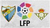 Малага 0 - 1 Бетис ( 8 ноября 2015). Обзор матча