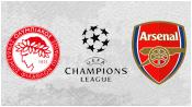 Олимпиакос 0 - 3 Арсенал ( 9 декабря 2015). Обзор матча