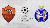 Рома 0 - 0 БАТЭ ( 9 декабря 2015). Обзор матча