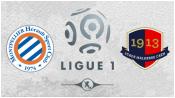 Монпелье 1 - 2 Кан (23 января 2016). Обзор матча