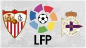 Севилья 1 - 1 Депортиво (17 апреля 2016). Обзор матча
