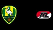 Ден Хааг 1 - 2 АЗ Алкмаар (21 апреля 2016). Обзор матча