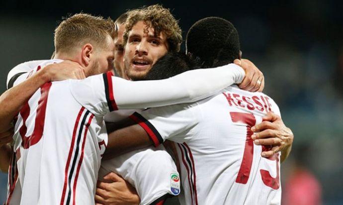 «Милан» на выезде обыграл «Сассуоло»