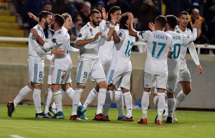 «Реал» развлекся на Кипре
