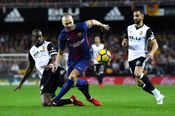 «Валенсия» не проиграла «Барселоне»