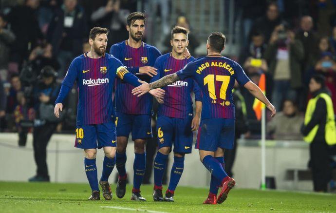 «Барселона» спокойно обыграла «Спортинг»
